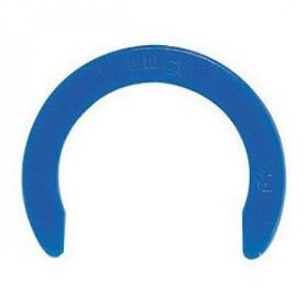Circlip d'identification bleu Ø10mm